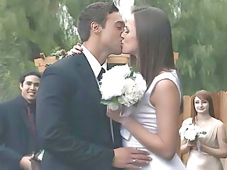 Bride Brunette Hardcore Outdoor Bride Sex Outdoor