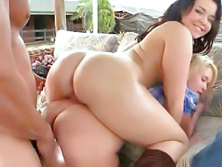 Ass Oiled Threesome Oiled Ass