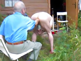 Granny Insertion Older Outdoor Outdoor Insertion