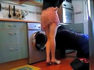 Kitchen Amateur Wife Kitchen Housewife Plumber Housewife Amateur