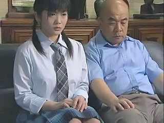 School Asian Brunette Japanese Old and Young Pigtail Uniform Old And Young Japanese School School Japanese