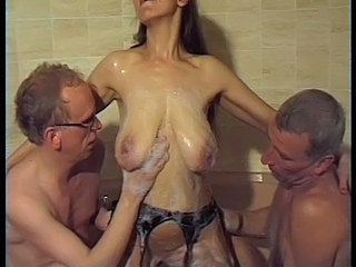 Big Tits German Groupsex Natural Showers Threesome Shower Tits Big Tits Big Tits German German