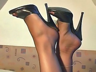 Feet Fetish Stockings High Heels Stockings