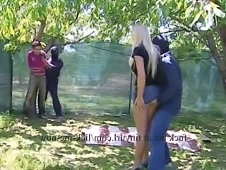 Forced Outdoor Groupsex Blonde Hardcore  Pornstar Outdoor Forced