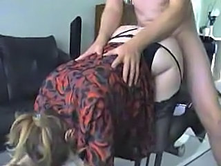 Stockings Clothed Doggystyle Hardcore  Clothed Fuck Stockings Milf Stockings