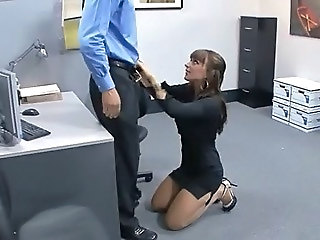 Secretary Babe Office Office Babe