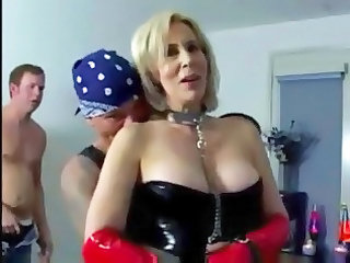 Fetish Latex Mature Old and Young Blonde Mature Old And Young Short Hair