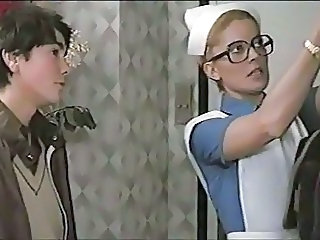 Maid Glasses  Uniform Vintage Maid Ass Milf Ass