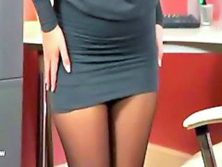Secretary Office Stockings Office Babe Stockings