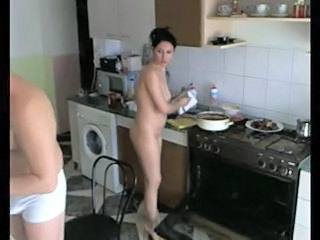 Amateur Homemade Kitchen Wife
