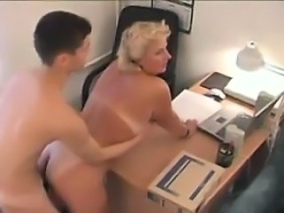 Teacher Amateur Blonde Mature Mom Old and Young Russian Boss