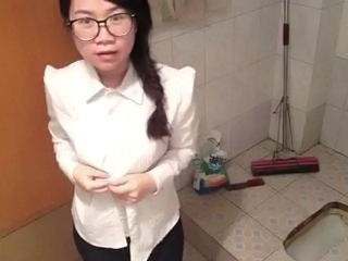 Asian Chinese Glasses Student Webcam Chinese Amateur