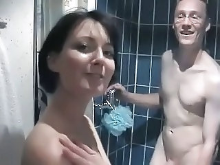 Amateur Homemade Older Showers Wife