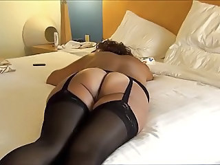 Wife Stockings Homemade Ass Amateur