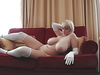 Babe Big Tits Blonde Russian
