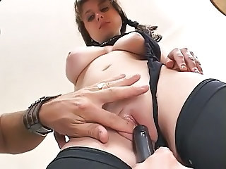 Casting  Pussy Shaved Teen Toy
