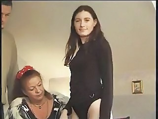 Daughter European French Mature Old and Young French Amateur