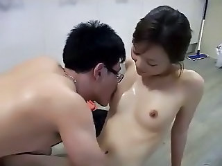 Asian Korean Licking Nipples Small Tits Teen