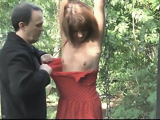 Forced Slave Tied Forest