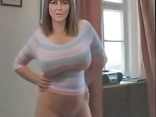 Amateur Big Tits Dancing Homemade  Wife