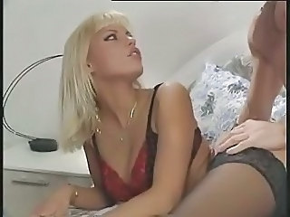 Amazing Blonde European German Lingerie  Pornstar Vintage German