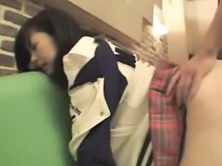 Asian Clothed Doggystyle Japanese Teen