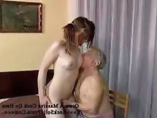 Daddy Daughter Old and Young Small Tits Teen