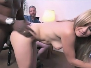 Blonde Cuckold Interracial Pornstar Small Tits Wife