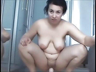 Chubby Dildo Masturbating   Toy Webcam