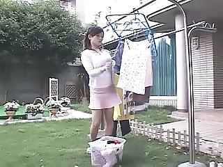 Asian Japanese  Outdoor Wife