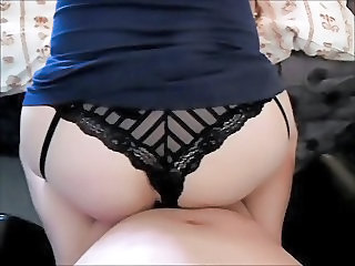 Amateur Ass British European Homemade Lingerie Panty Pov Wife