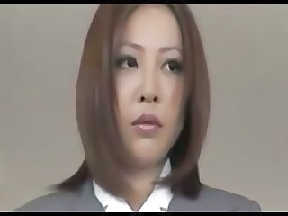 Asian Brunette Cute Japanese  Office Secretary