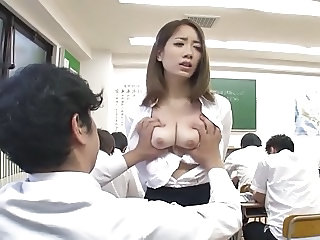 Asian Cute Japanese  School Teacher