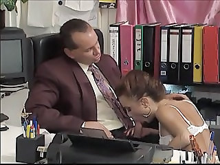 Blowjob European German  Office Secretary German