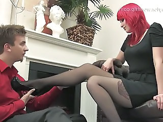 Feet Fetish Legs Stockings Foot Nylon