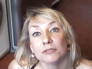 Amateur Blonde Homemade Mature Wife