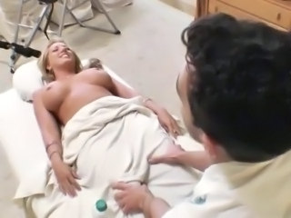 Babe Blonde Massage
