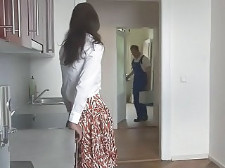 Kitchen Skirt Wife Nylon