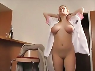 Babe Big Tits Maid Natural Stripper