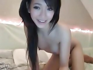 Asian Brunette Chinese Cute Small Tits Teen Webcam