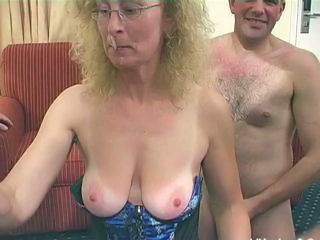 Blonde Gangbang Glasses Mature Natural