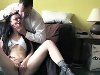 Brunette Forced Hardcore Teen