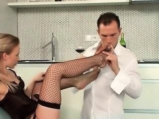 Feet Fetish Fishnet Legs Punish Amateur