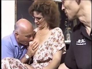 Cuckold Glasses Mature Nipples Older Wife