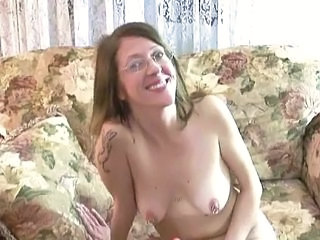 Amateur Glasses Masturbating  Nipples Piercing  Tattoo Amateur