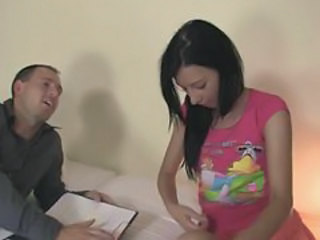 Brunette Teacher Teen
