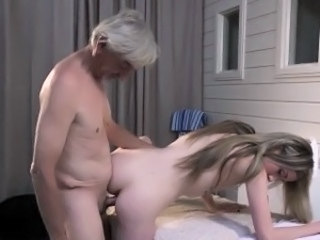 Daddy Daughter  Old and Young Teen Grandpa Kinky