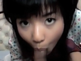 Asian Blowjob Clothed Small cock Teen