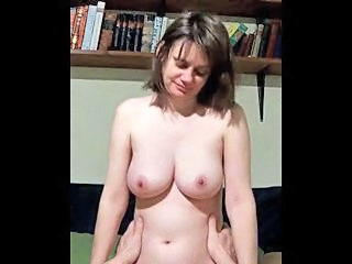 Amateur Girlfriend Homemade Natural Riding