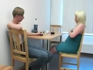Amateur Blonde Drunk Mature Mom Old and Young Russian